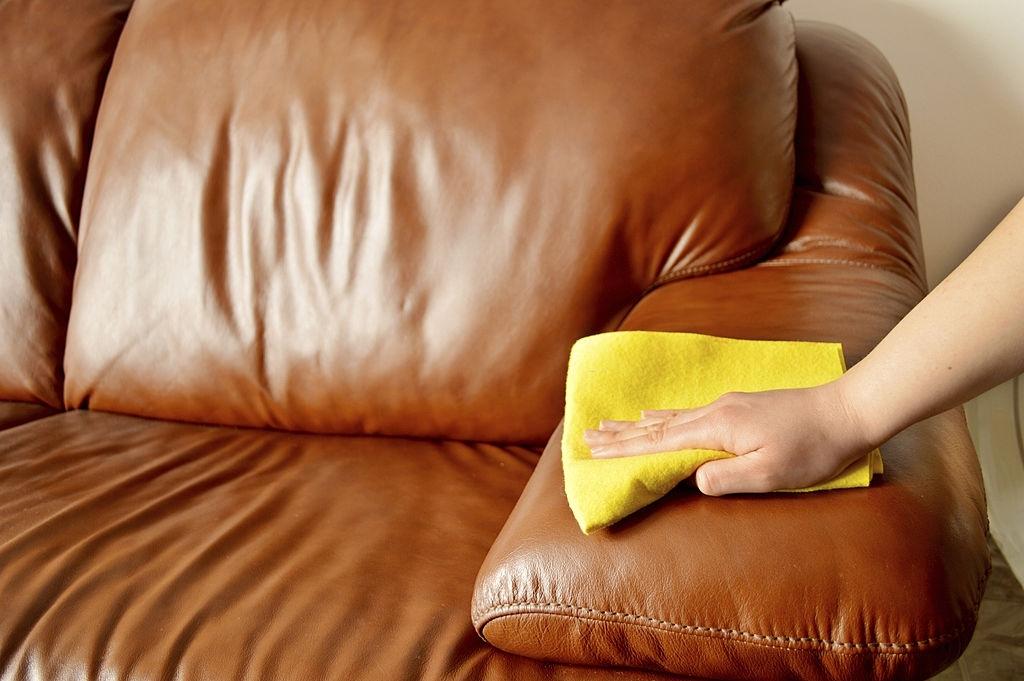 Restoring Leather Sofa
